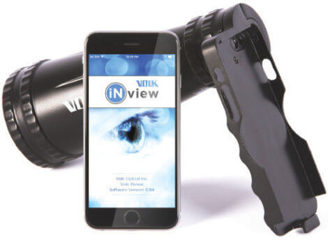 VOLK InView Fundus Camera with smartphpone from The Foresight International Group