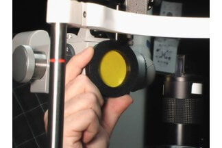 Slit Lamp Yellow Filter
