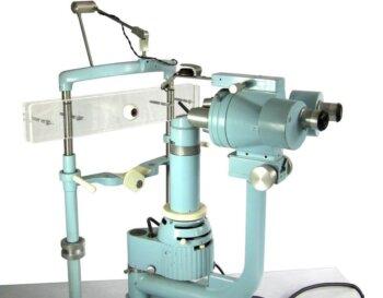 Premium Practice Eye Slit Lamp Holder