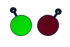 Red and Green Trial Lenses